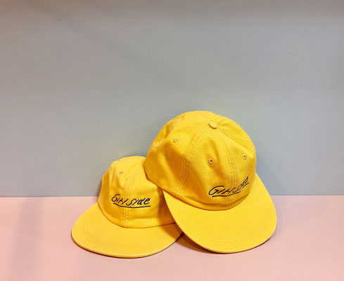 【GS07】 Girlside Logo Cap ¥3,600 +tax