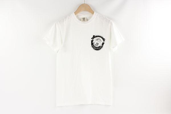 【GS409~411】norahi - T-shirts (WHITE/S,M,L) ¥3,800 +tax