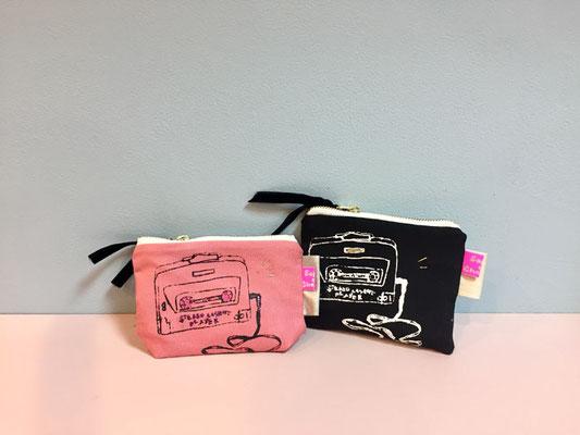 【GS58】Sophie et Chocolat mini pouch ¥2,800 +tax