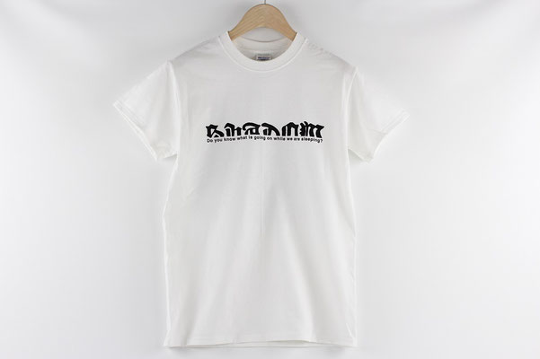 【GS137/138】ANACHY TECHNO SHADOW T-SHIRTS(S/M)※表デザイン ¥3,241 +tax