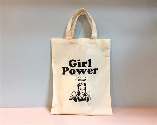 【GS123】Violet And Claire Girl Power Tote Bag ¥1,000 +tax