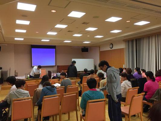 社会福祉法人ジェイエイ兵庫六甲福祉会さまでの職員研修での様子です。