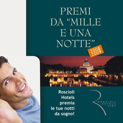 Gruppo Roscioli Hotels - Collection 2008/2009 - copertina catalogo