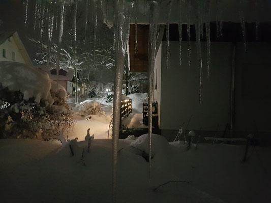 Ausblick aus meinem Schlafzimmer