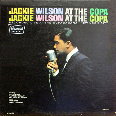 the Funky Soul story - Jackie Wilson, Live At The Copa