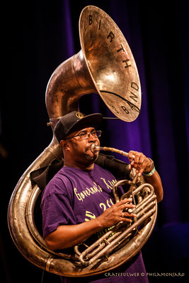 "Rebirth Brass Band - Phillip ""Tuba Phil"" Frazier (tuba)"