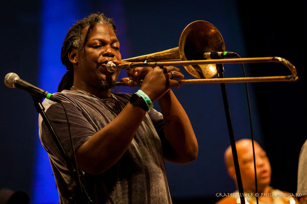 Rebirth Brass Band - Gregory Veals (trombone)