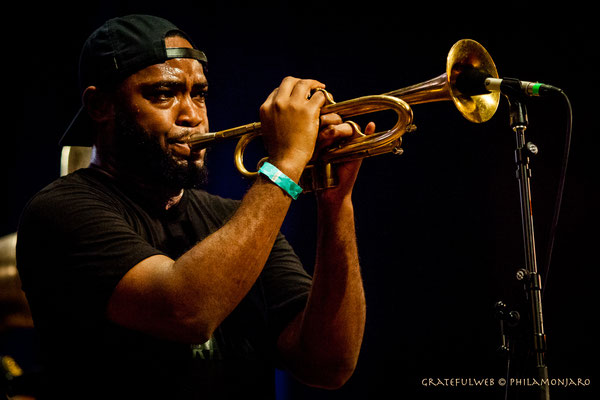 Rebirth Brass Band - Chadrick Honoré (trumpet)