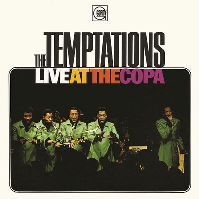 the Funky Soul story - The Temptations, Live At The Copa