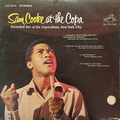 the Funky Soul story - Sam Cooke, Live At The Copa