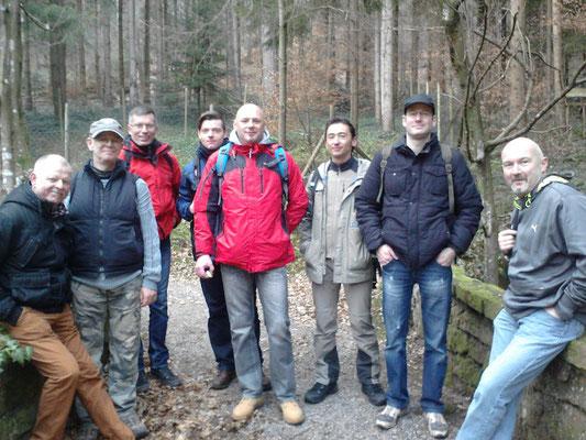 Wandergruppen im Schwarzwald