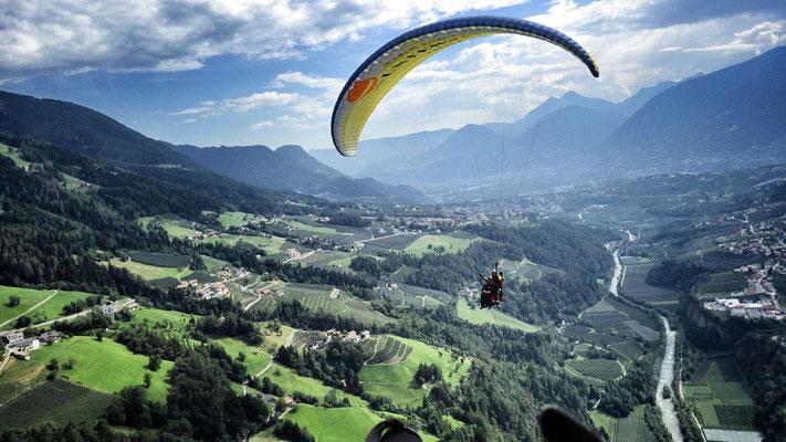 flieg mit Peter - Flug am Hirzer, Schenna, Verdins