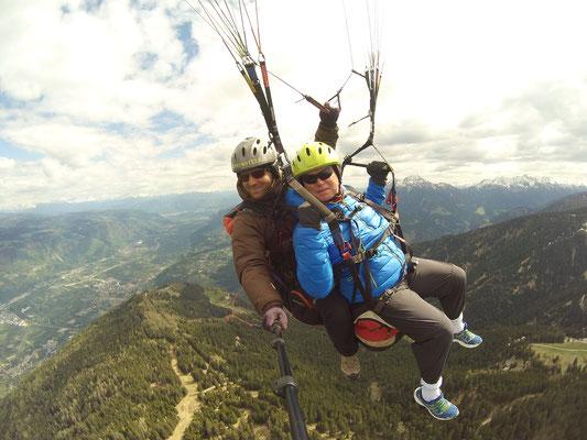 Auf 2000 Meter oberhalb dem Vigiljoch