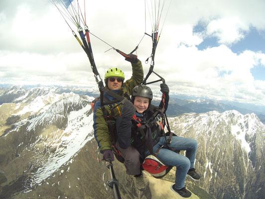 Am Hirzer auf 3300 Meter