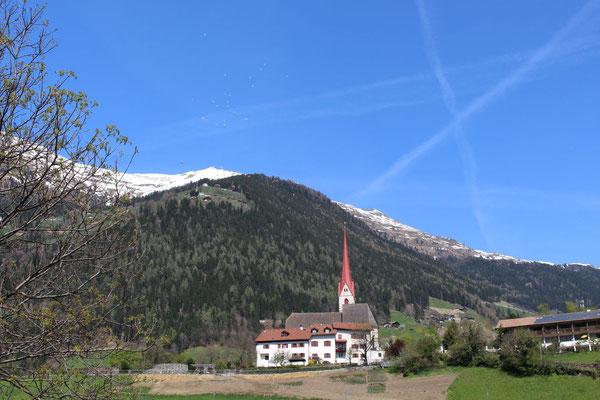Das Startbulk über St. Leonhard