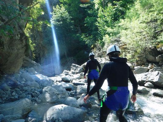 canyon du fournel, briançon, hautes alpes