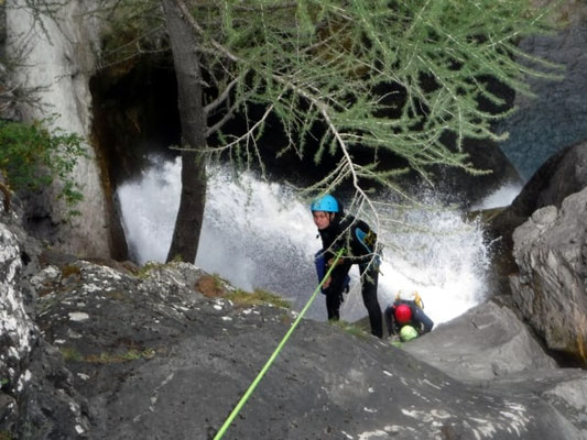 canyoning top canyon serre chevalier