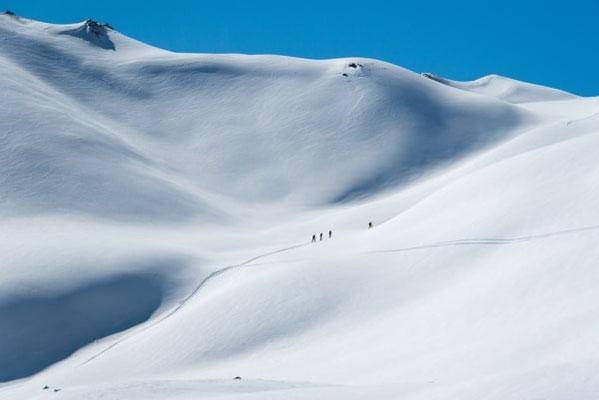 évasion randonnée ski montagne briançon