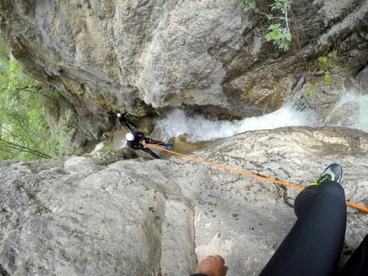canyon béal noir hautes alpes