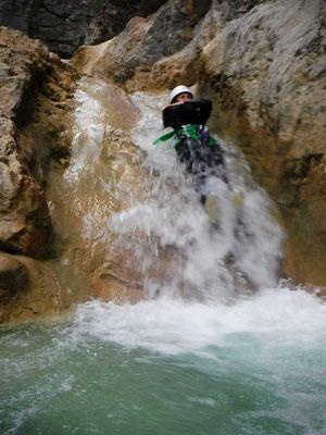 activités canyoning briançon nature