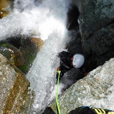 canyon et canyoning à briançon serre chevalier dans les hautes alpes