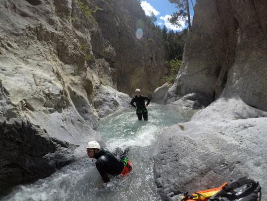 canyoning à briançon