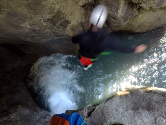 canyoning serre-chevalier