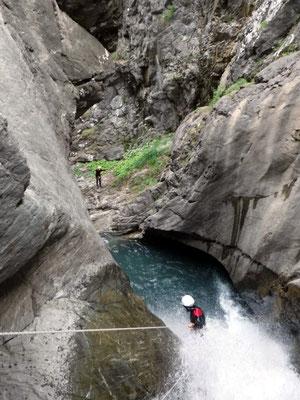 canyoning plus beaux hautes alpes