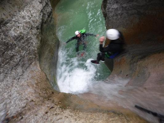 canyon sur briançon aventure sport