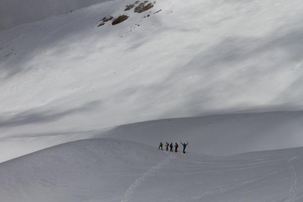 Une grande quantité de neige à 2600m