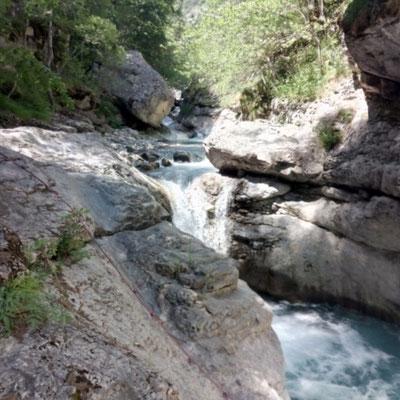 canyoning fournel briançon facile
