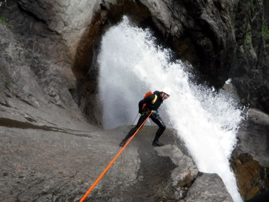 photographie canyoning serre chevalier