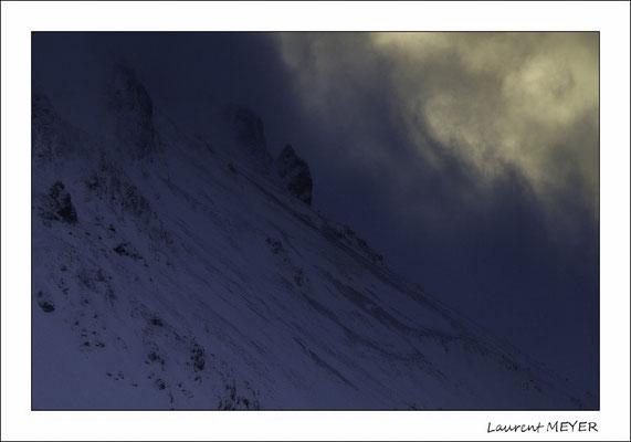 randonnée raquette autour de Briançon ( photo : Laurent Meyer )
