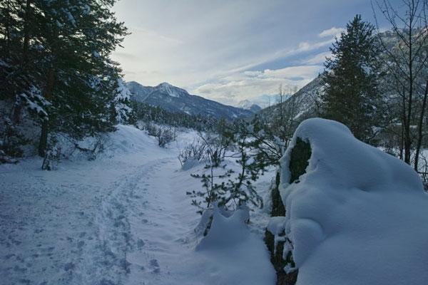 serre-chevalier neige raquette