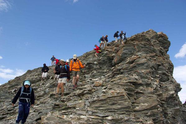 randonnée sommet briançon serre chevalier 3000