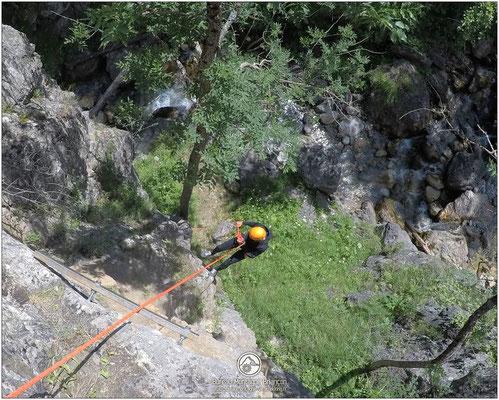 canyoning de tramouillon