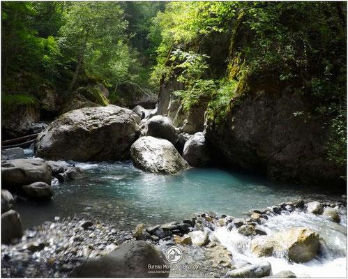 Canyon du Fournel à proximité de Briançon