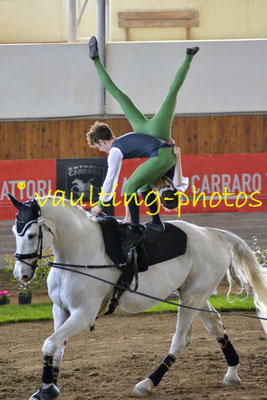 Emma Hoffmann/Pascal Kersten (GER); Pferd: Cannavaro; Longe: Melanie Nagel