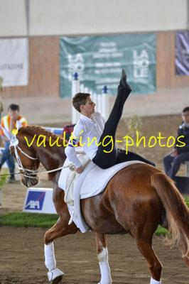 VRC Weicht (GER); Pferd: Rolando TS; Longe: Alexander Zebrak