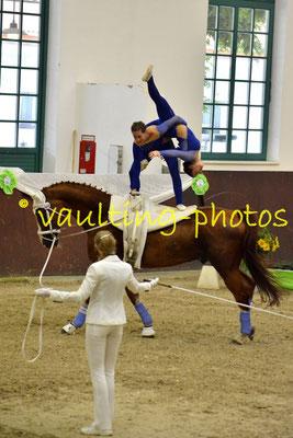 Anne-Sophie Meyer/Carolin Schmitz; LV: Mecklenburg-Vorpommern; Longe: Dajana Schult; Pferd: World Walker