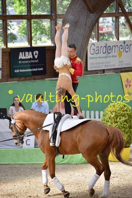 Fredenbeck I (GER); Pferd: Wizaro; Longe: Gesa Bührig