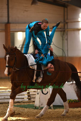 Rudophital I; Pferd: Wie Weltadel; Longe: Andrea Schulze