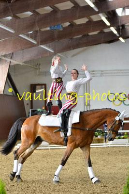 JT Schenkenberg; LV: Sachsen; Pferd: Neo; Longe: Peter Wagner