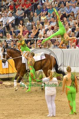 VV Köln-Dünnwald II; LV: Rheinland; Pferd: Holidayon Ice; Longe: Alexandra Knauf