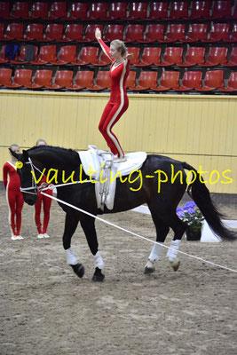 Skibby II (DEN); Pferd: Gulager Linus; Longe: Hanne Haagen Hansen