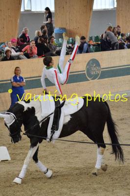 Italy Junior (ITA); Pferd: Lugano 330; Longe: Laura Carnabuci