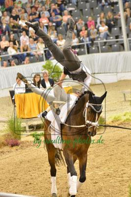 Torben Jacobs/Theresa-Sophie Bresch; LV: Rheinland; Pferd: Picardo 13; Longe: Alexandra Knauf