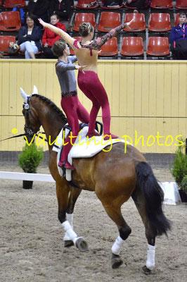 Juniorteam I Schenkenberg (GER); Pferd: Neo; Longe: Peter Wagner