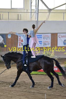 Emanuele Mangini/Francesca Colosimo (ITA); Pferd: Quarzo del Belagaio; Longe: Giulia Bardelli