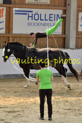 """RuF """"Gestüt am Wilisch"""" I; Pferd: Wacek; Longe: Angela Linnemann"""